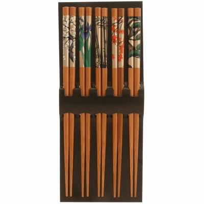 Bamboo Antique Byobu Chopsticks Set