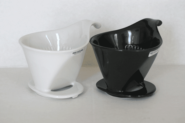 Bee House Coffee Dripper, Black or White