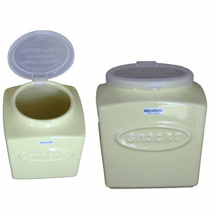 Bee House  Snack Container, 76 oz.