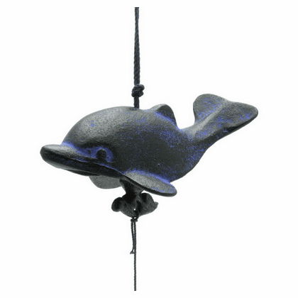 Black & Blue Cast Iron Wind Chime