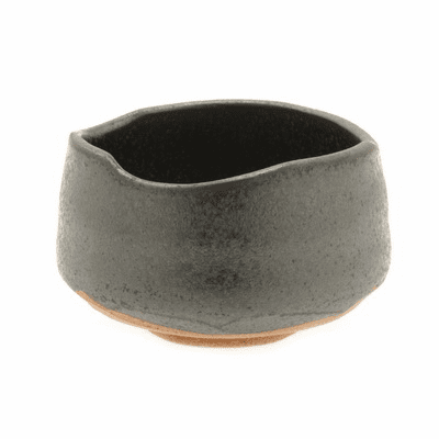Black Crystalline Matcha Chawan  <br>Tea Bowl