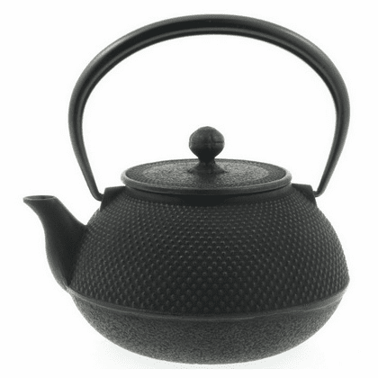 Black Hobnail Cast Iron Teapot <br>by Iwachu 44 oz.