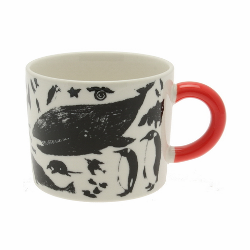 Black Polar Mug, 12 oz.