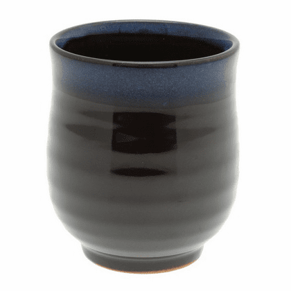 Blue and Black Tea Cup 8 oz.