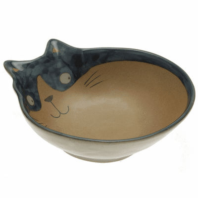 "Blue Cat Funny ""Tuxie"" Sauce Bowl"