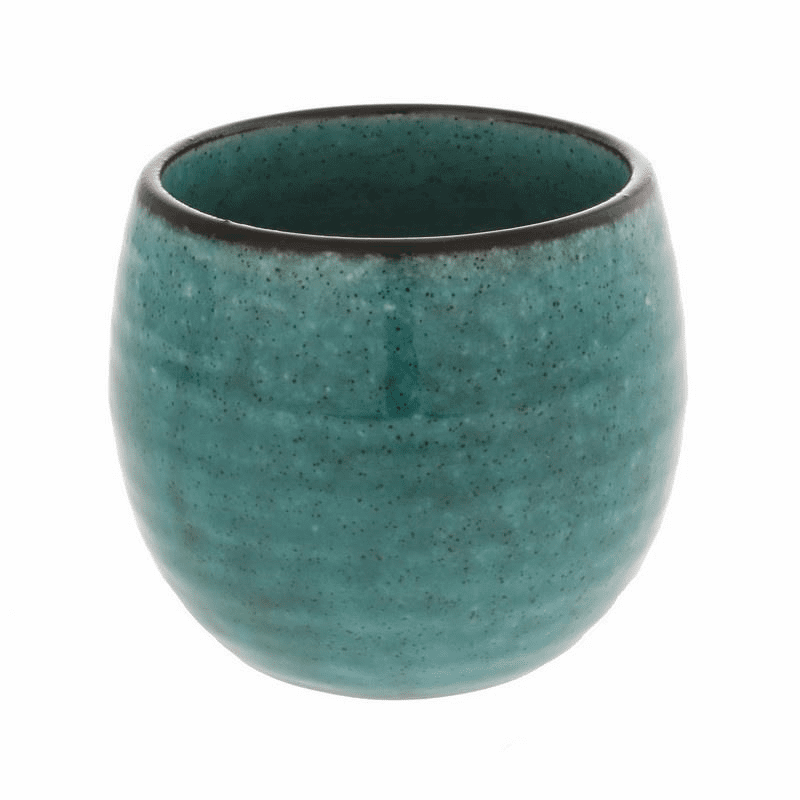 Blue Chrysocolla Tea Cup, 10 oz.