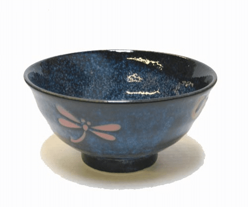 Blue Dragonfly Bowl 6-1/4""