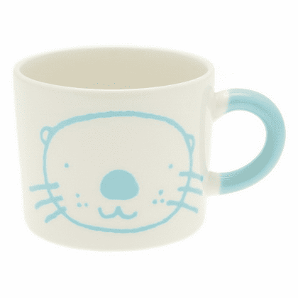 Blue Otter Mug, 12 oz.