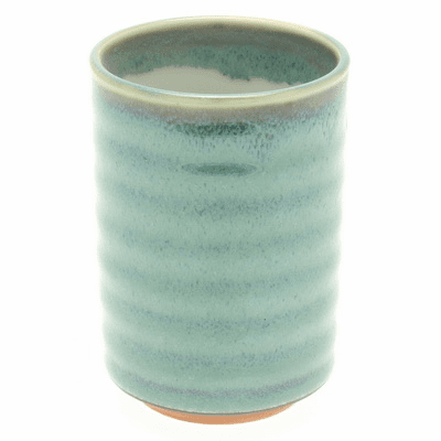 Blue Variegated Jade Sushi Cup, 8 oz.