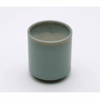 Blue Variegated Jade Tea Cup 8 oz.