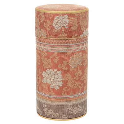 Brocade Peony Red Tea Canister,  200 Grams