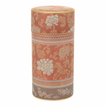 Brocade Peony Red Tea Canister,  <br>200 Grams