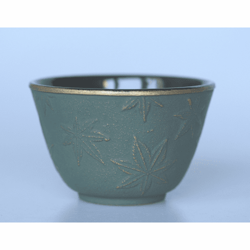 Bronze Maple Leafe Cast Iron Cup