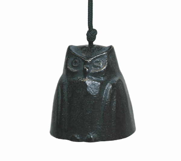 Bronze Owl Cast Iron Wind Chime