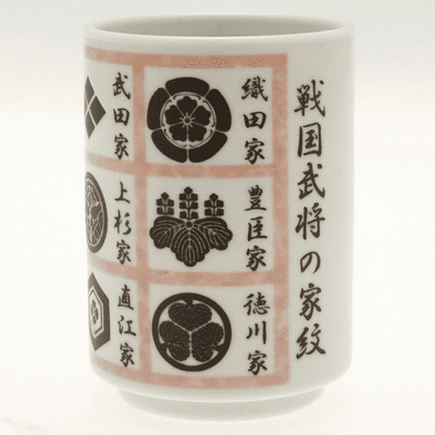 Bushi Family Crests Sushi Cup 10 oz.