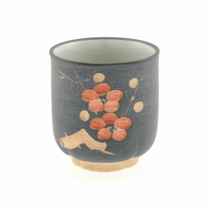 Carved Plum Blossom Sushi Cup 10 oz.