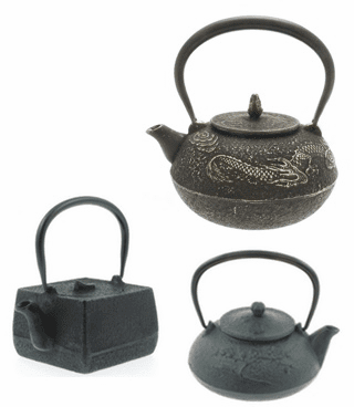 Cast Iron Tea Pots