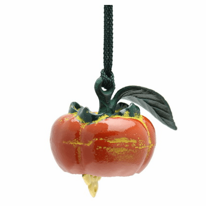 Cast Iron Wind Chime Persimmon