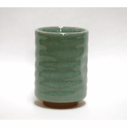 Celadon Crackle Sushi Cup, 10 oz.