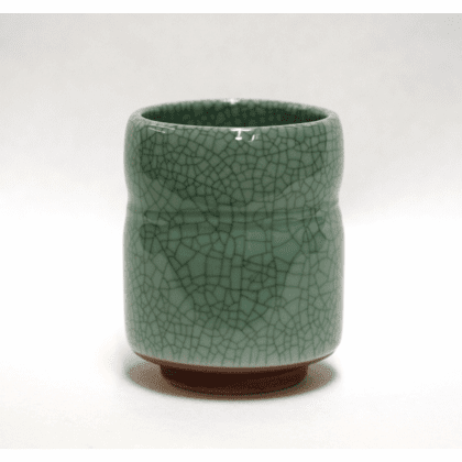 Celadon Crackle Sushi Cup, 7 oz.