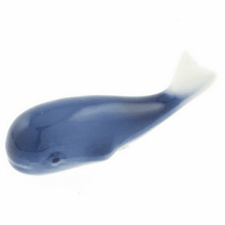 Ceramic Chopstick Rest Blue Whale