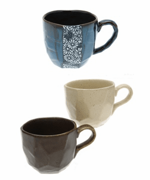 Ceramic Coffee & Tea Mugs
