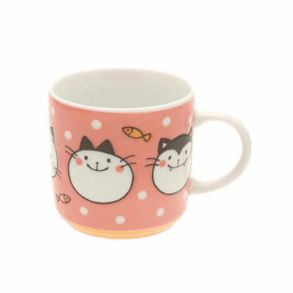 Ceramic Pink Wonderfull Kitty Mug