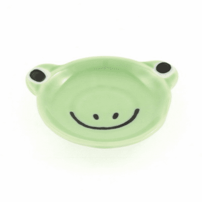 Chopstick Rest Ceramic Frog Face