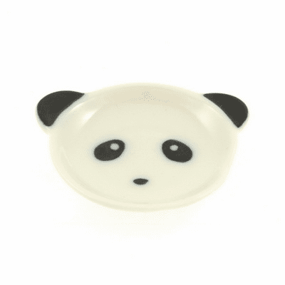 Chopstick Rest Ceramic Panda Face