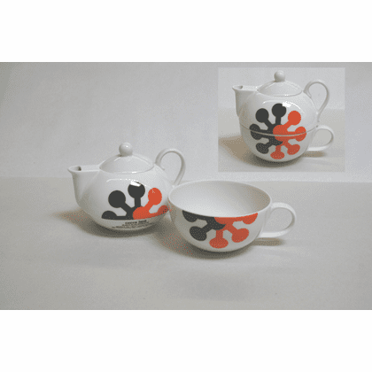 """Cocca Laya"" Teapot and Cup Set"