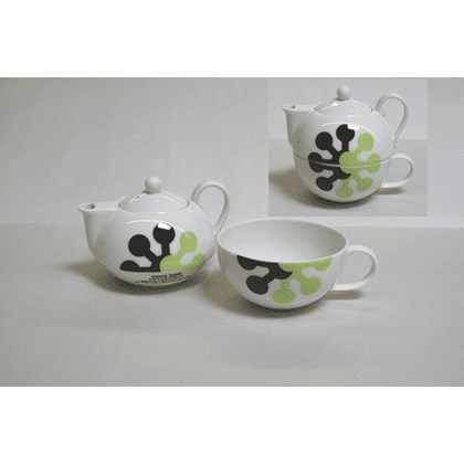 """Cocca Lomo"" Teapot and Cup Set<font color=red><i>""Out of Stock""</i></font>"