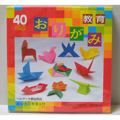 "Color Origami Paper 6"" Sq. 252 Sheets"