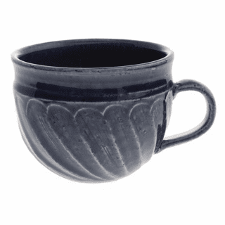 Denim Wash Swirls Mug, 12 oz.