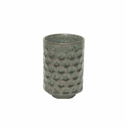 Diamond Pattern Sushi Tea Cup 12 oz.