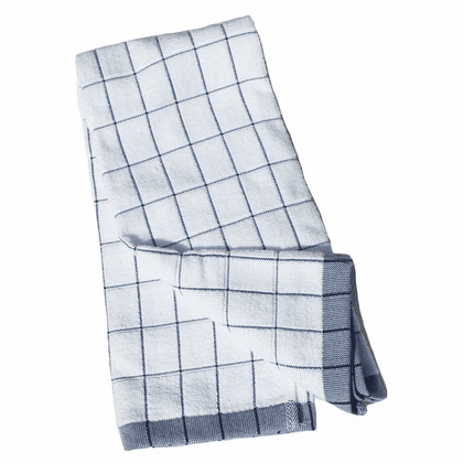 e-cloth Classic Check Kitchen <br> Towel - Blue