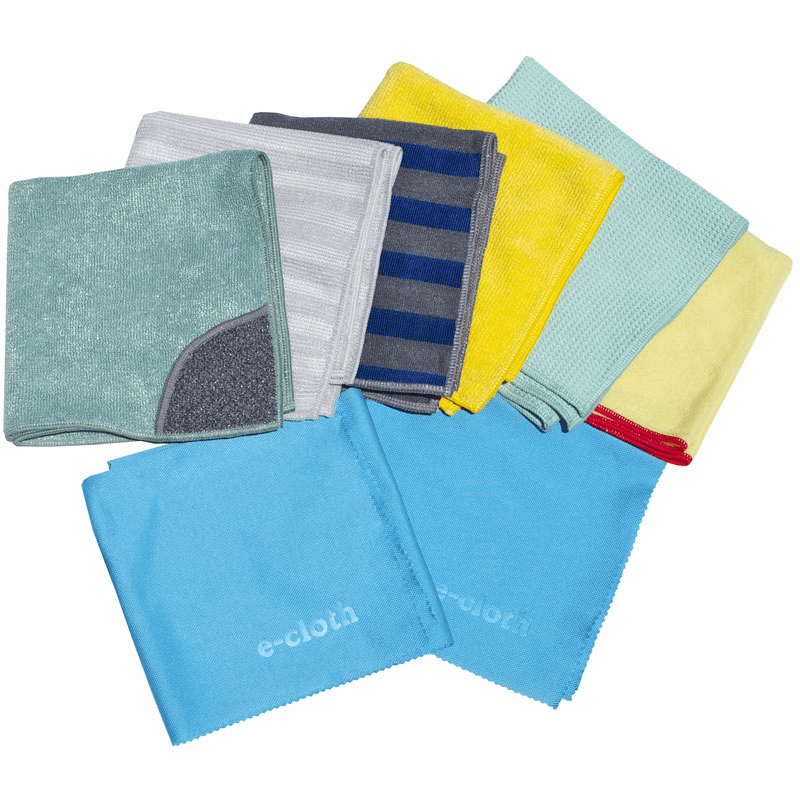 e-cloth Home Cleaning Set - 8 Cloths