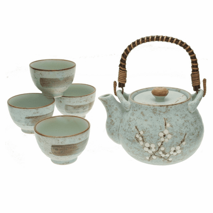 Early Spring Blossoms Tea Set for 4
