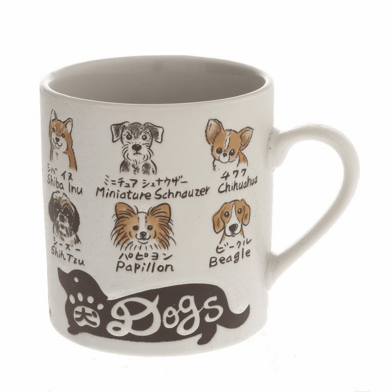 Favorite Dogs Mug, 10 oz.