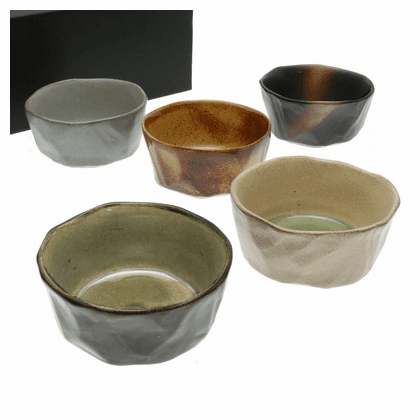 Five Forest Canopy Bowls Set