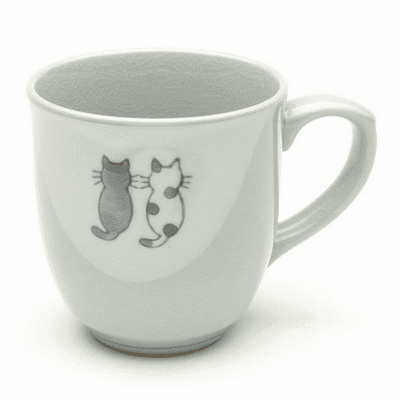 Friendly Kitty Mug, 8 oz.