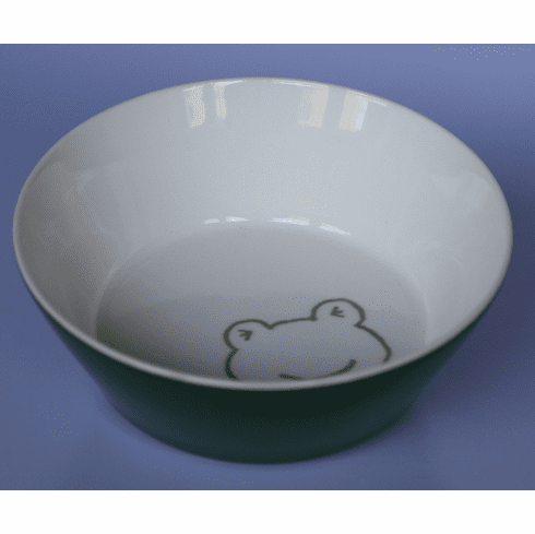 Frog in the Green Bowl