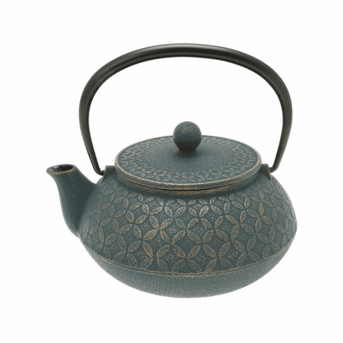 Gold & Daman Tessellation Cast Iron <br>Teapot 20 oz. by Iwachu