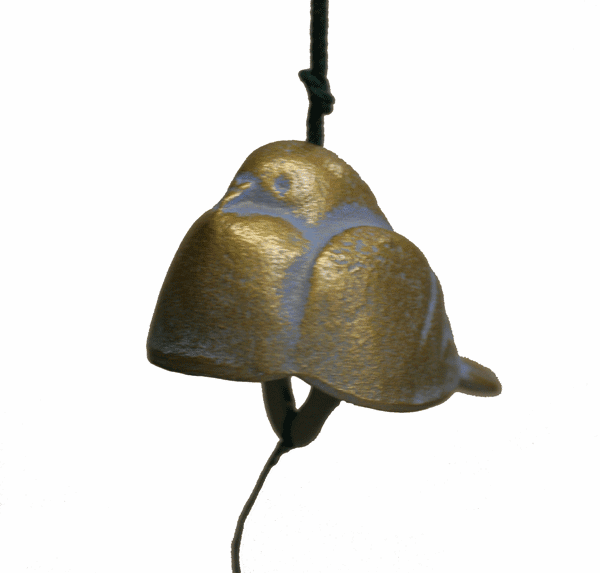 Gold Dove Cast Iron Wind Chime