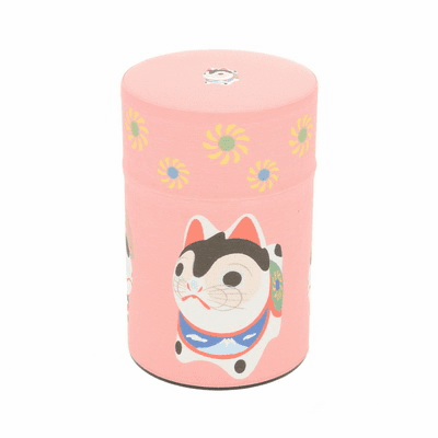 Good Luck Dog Tea Canister,  <br>Holds 100 Grams