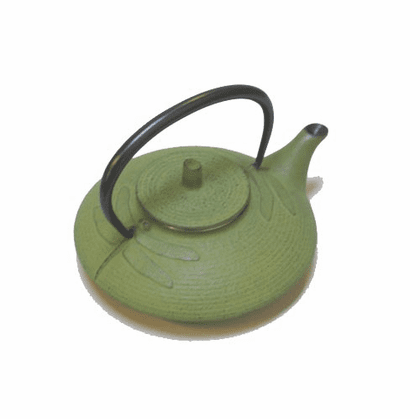 Green Dragonfly Cast Iron Teapot <br>by Iwachu 16 oz.
