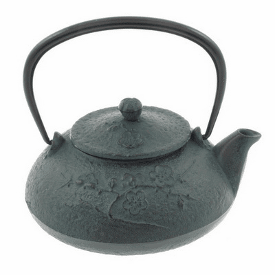 Green Plum Tea Pot  -  Shinonome <br>Ryokubai 18 oz.