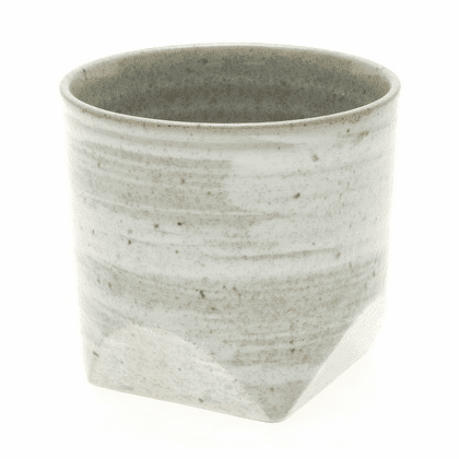 Grey Faceted Rock Cup, 10 oz.