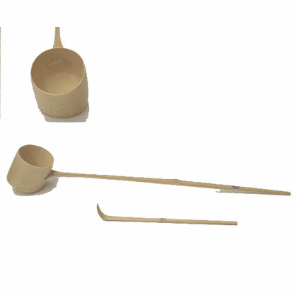 "Hishaku  Water Ladle  and Chashaku  Tea Scoop for Tea Ceremony ""Out of Stock"""