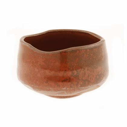 Iron Red Matcha Chawan Tea Bowl