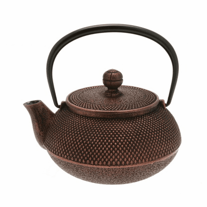 Iwachu Copper Hobnail Cast Iron <br>Teapot 20 oz.